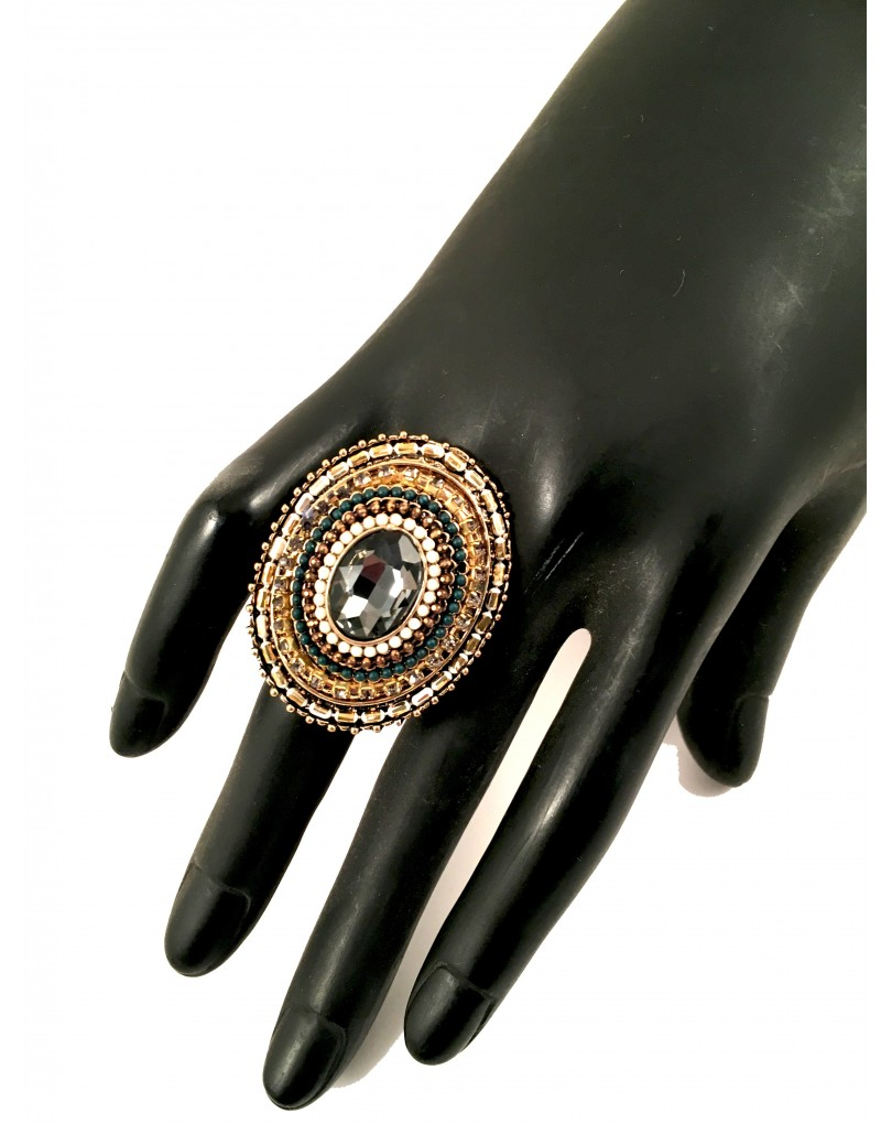 Grandes anillos de bisuteria para mujer el jardin del deseo - El jardin del deseo pendientes ...