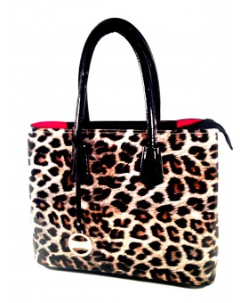 BOLSO FASHION LEOPARDO SHOPING