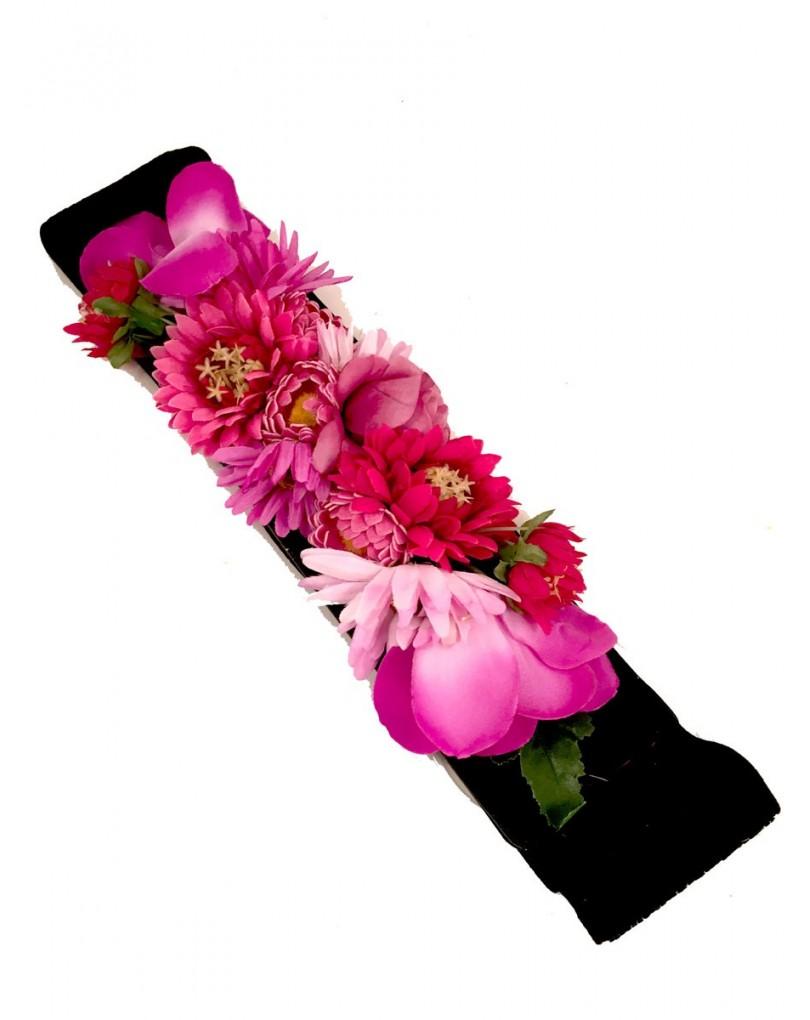 570c5b9d Cinturon de Flores para Bodas y Fiestas | Cinturones y Complementos