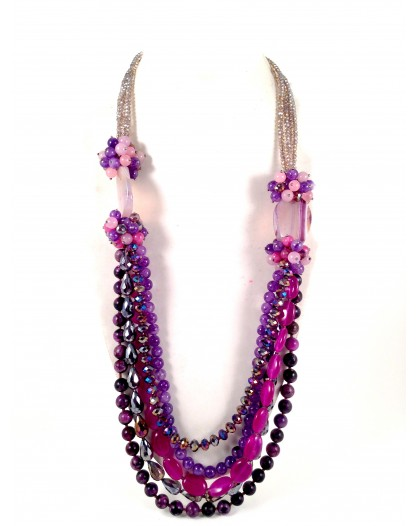 COLLARES EXCLUSIVOS MORADO CRISTAL TAY