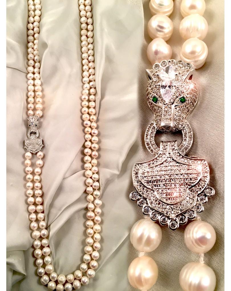 83b42b320ee7 Largos Collares de Perlas de Alta Bisuteria