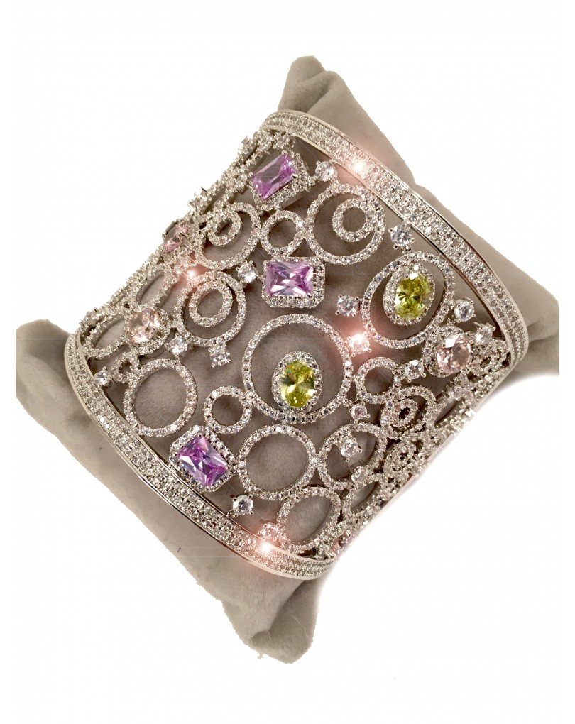 Bisuteria fina brazaletes de circonitas pulseras bisuteria fina y bisuteria fina y joyeria - El jardin del deseo pendientes ...