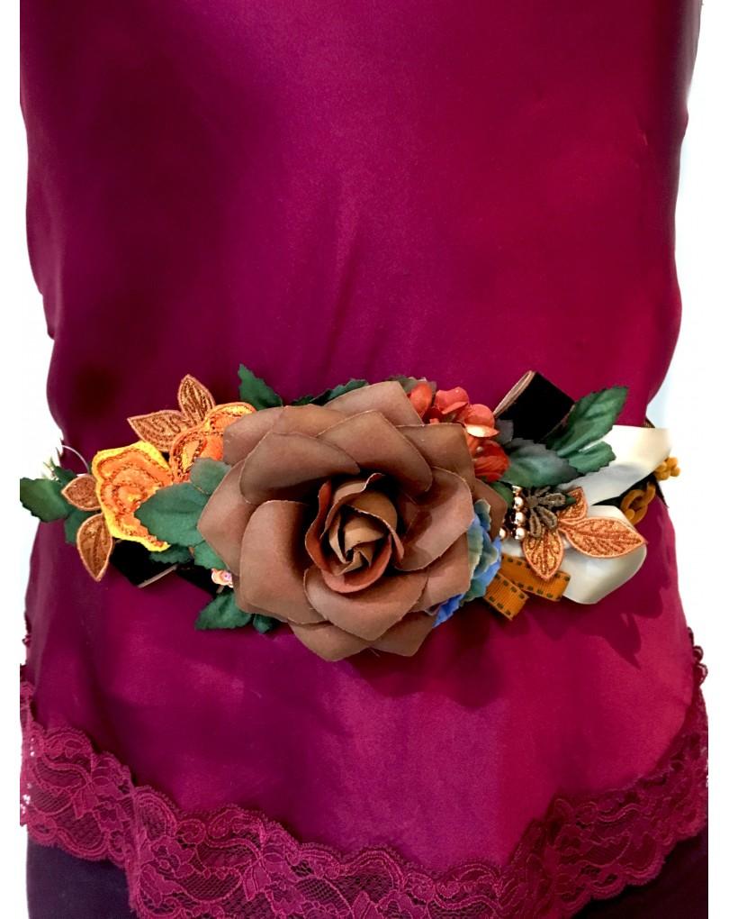 303d4031 Cinturones de Flores y Cadenas para Bodas | Cinturones y Complementos