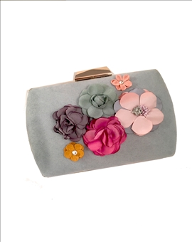 BOLSO FIESTA, CLUTCH DECORADO