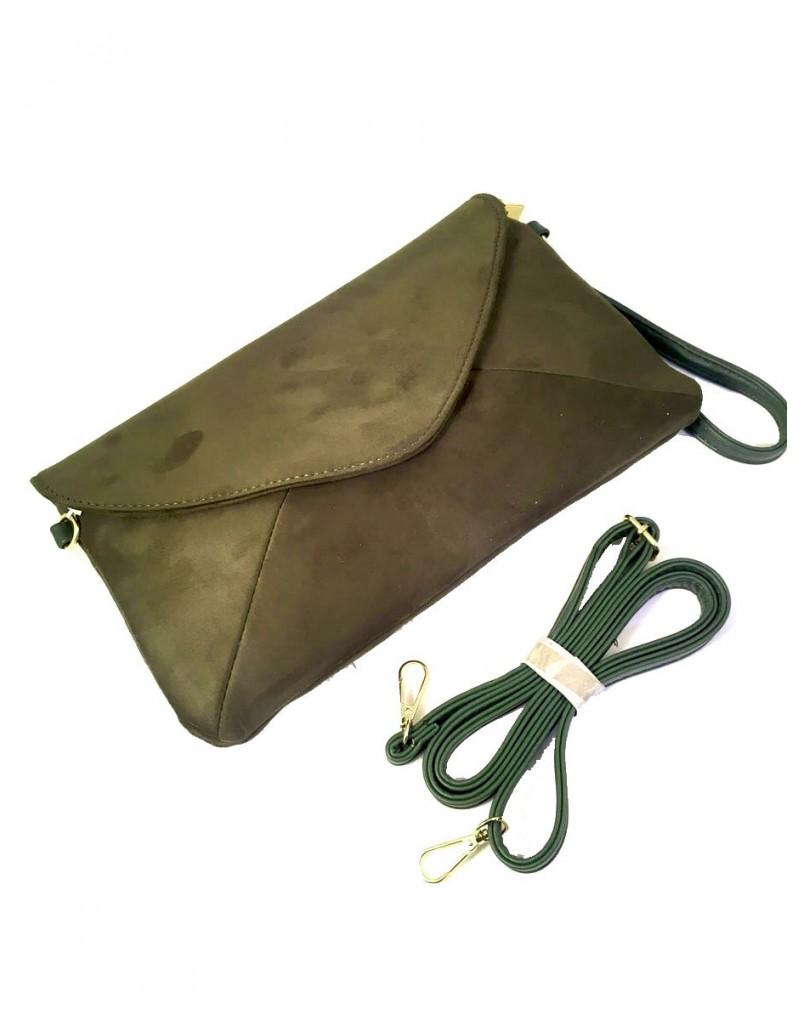 1783fd05340 Bolsos Online Verde Militar Tipo sobre y Bandolera | Bolsos de Dia y ...