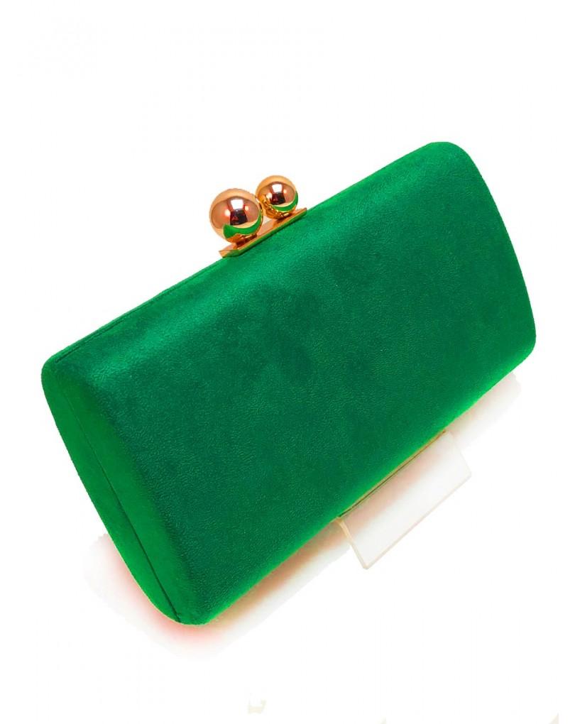 bdfc69e1334 Originales Bolsos de Fiesta Verde Esmeralda Oscuro
