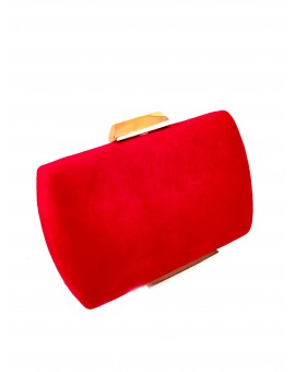 CLUTCH SENCILLO COLOR ROJO ONLINE