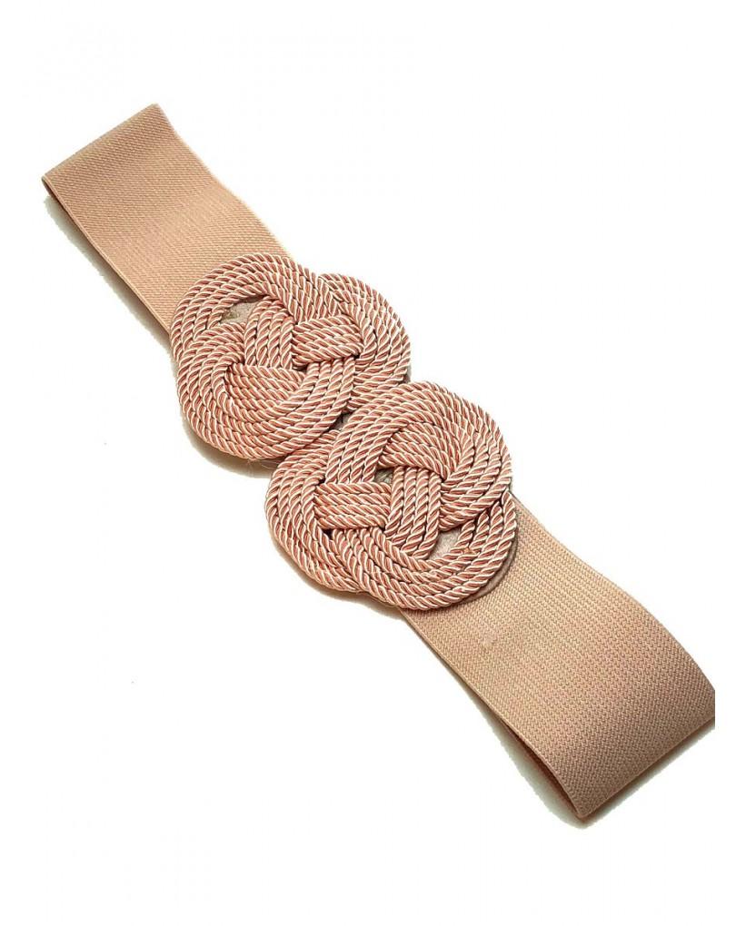 Cinturones para Mujer Rosas con Nudo Marinero  bf30d1d89942