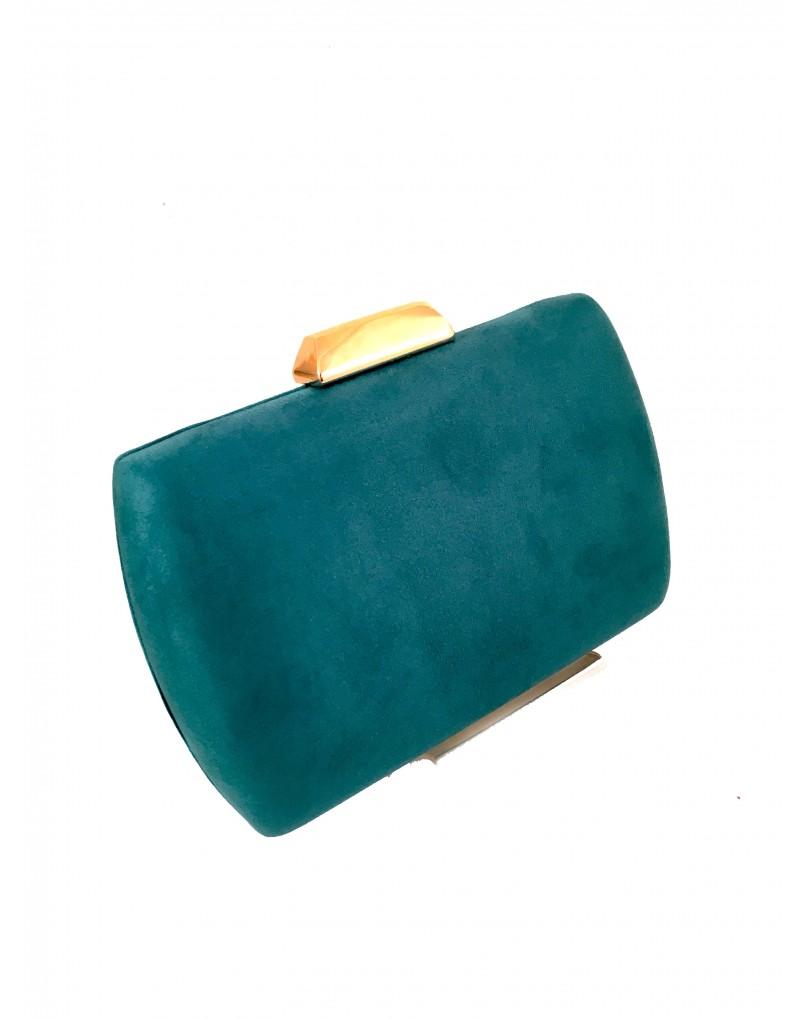 4f8b21f76 Clutch Sencillo Color Verde Agua Online | Bolsos Fiesta y Bolsos
