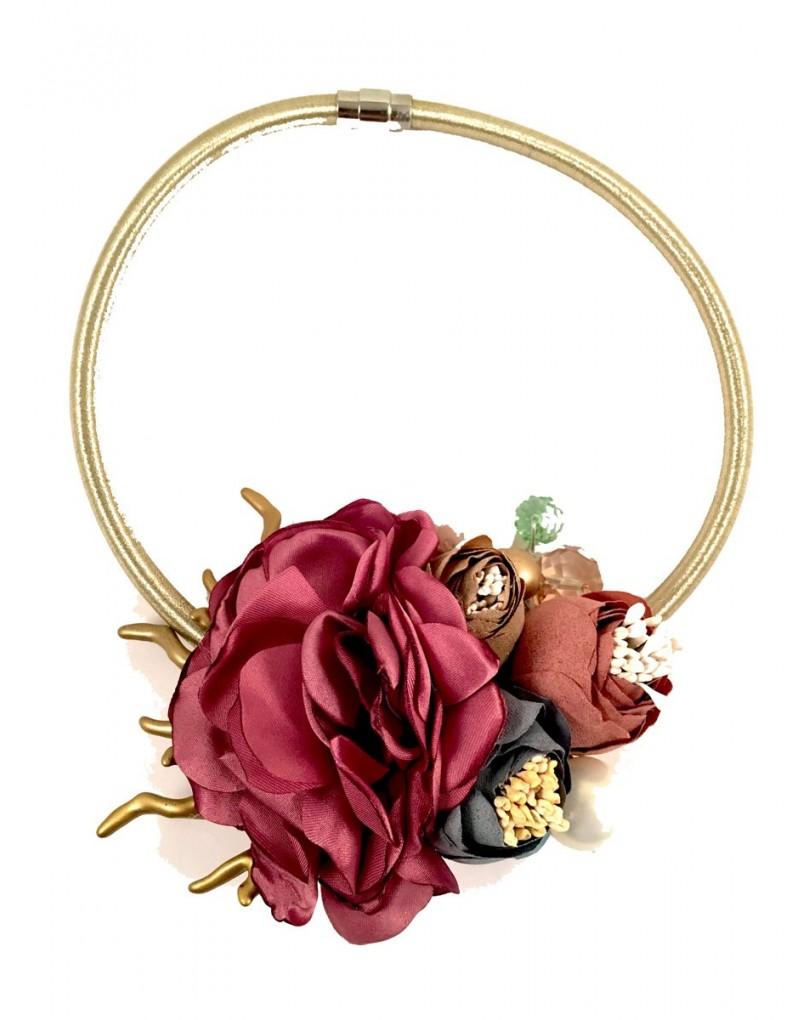 d31484838002 Collares de Flores de Tela