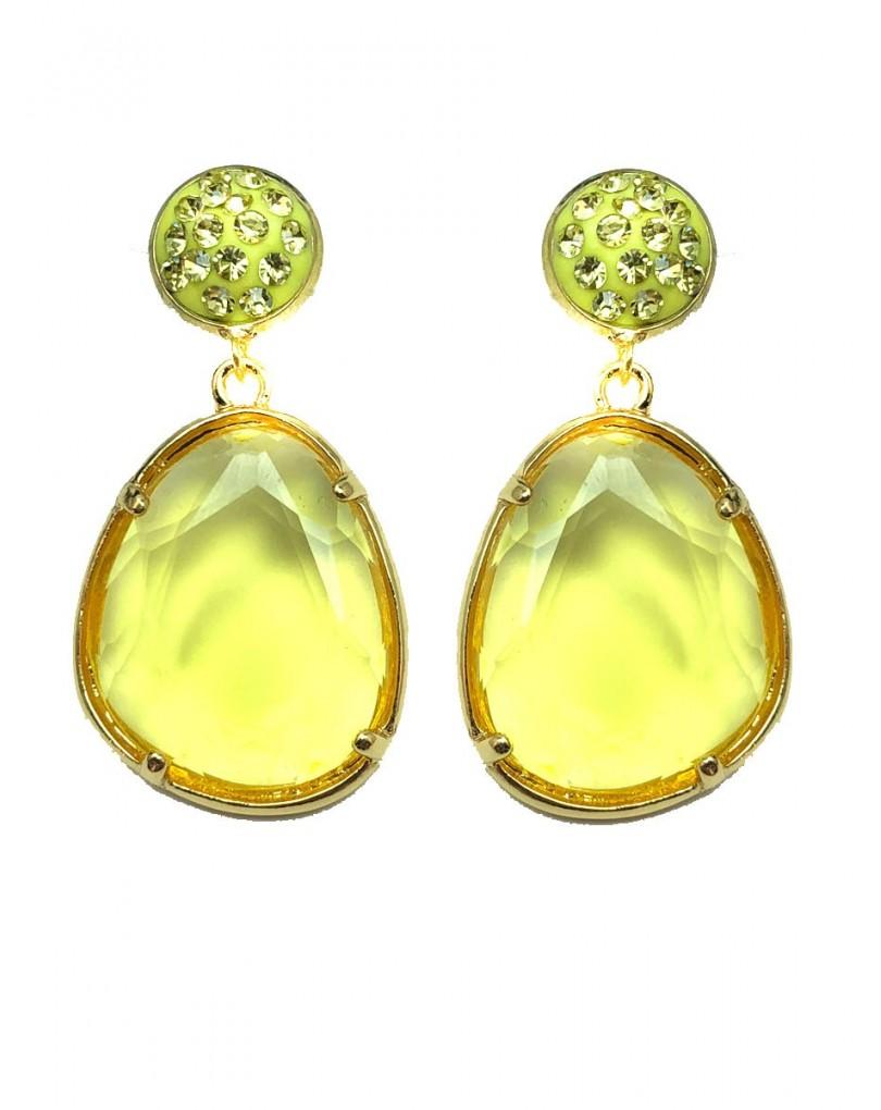 a330b6d902d3 Pendientes Amarillos de Bisuteria Ideales para Llevar Esta Temporada con  Los Colores de Moda