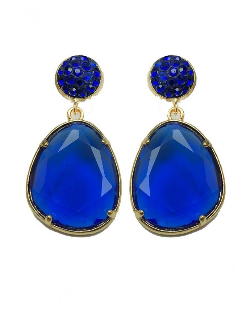 dbb080c74b15 Pendientes Azulones de Bisuteria Ideales para Llevar Esta Temporada con Los  Colores de Moda