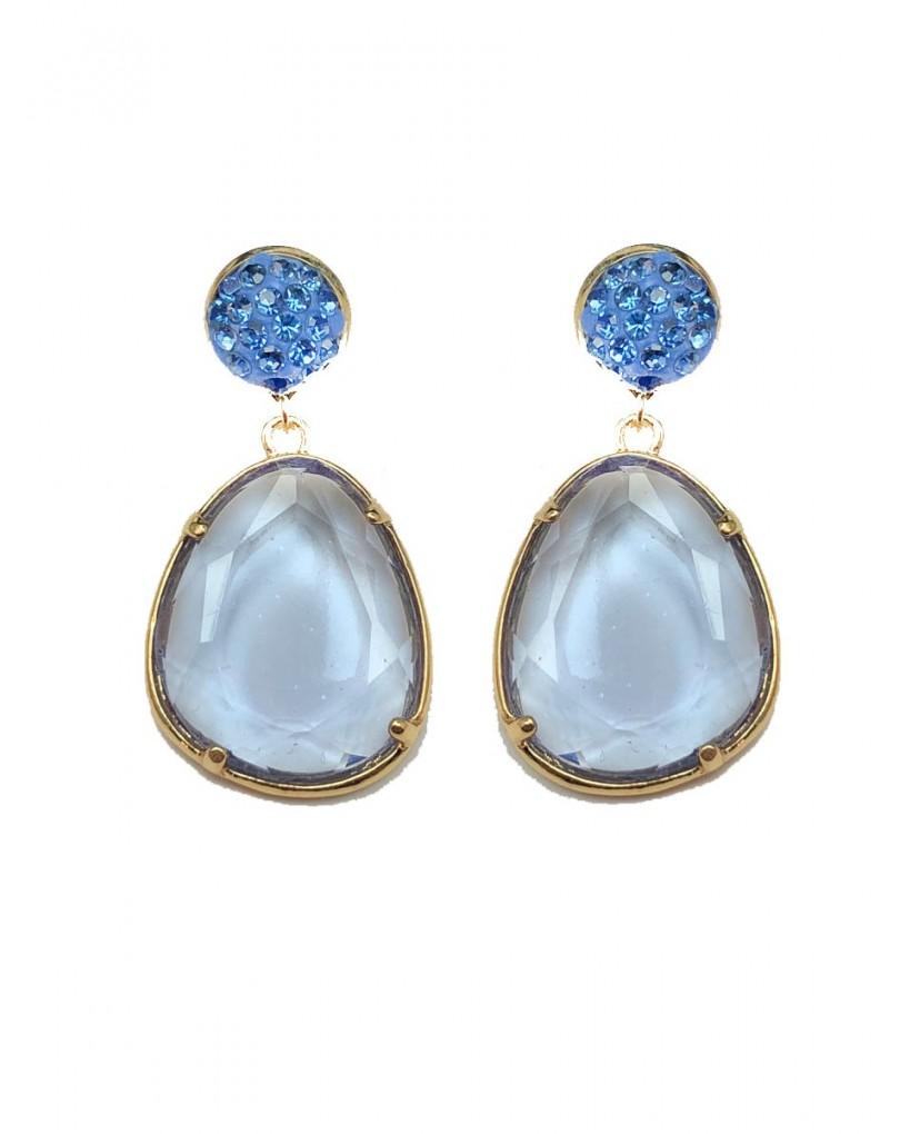 c746316c8ac2 Pendientes Azules de Bisuteria Ideales para Llevar Esta Temporada con Los  Colores de Moda