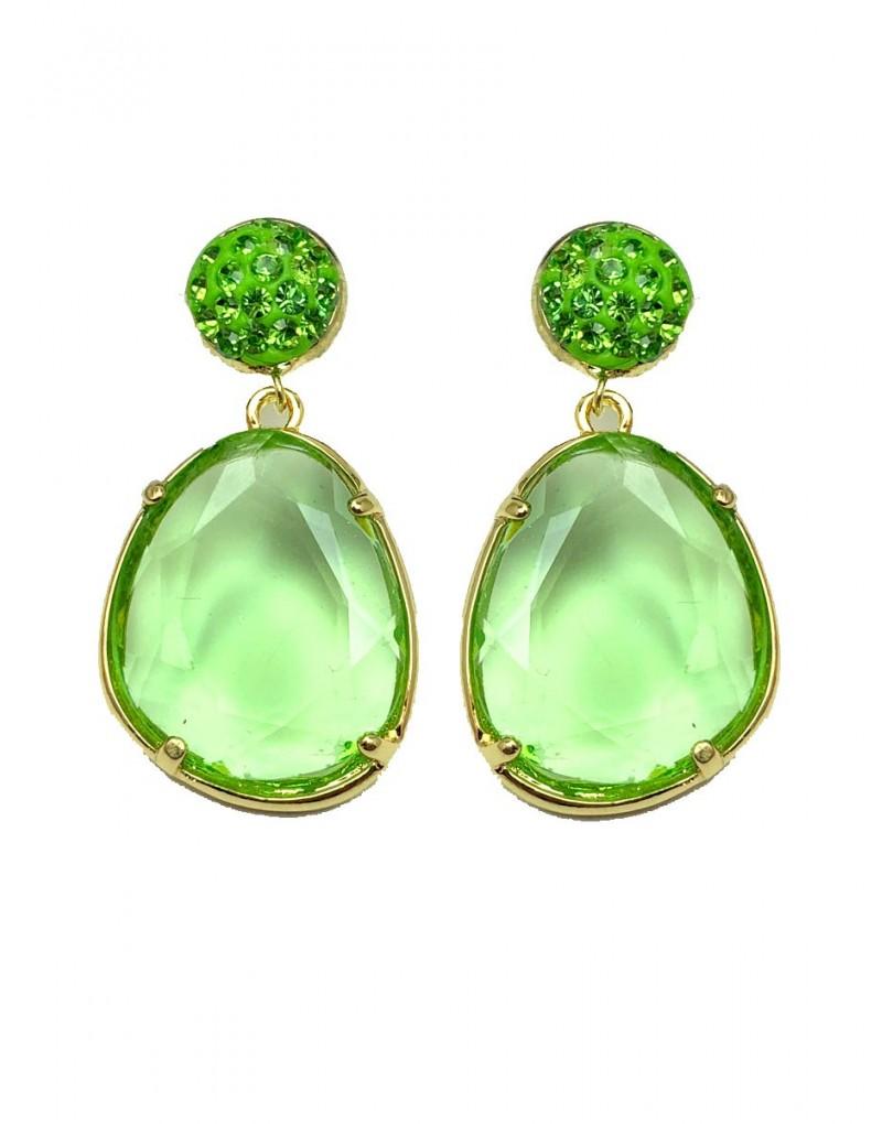 e00ddc847a9a Pendientes Verdes de Bisuteria Ideales para Llevar Esta Temporada con Los  Colores de Moda