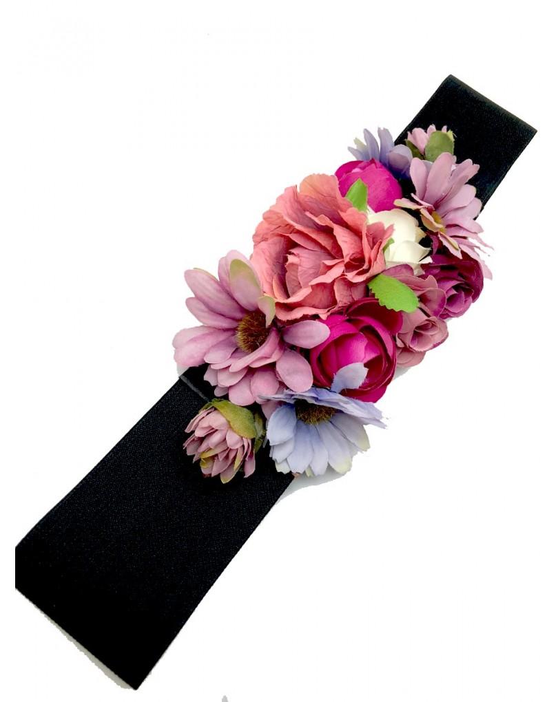 Cinturon para vestido de fiesta negro