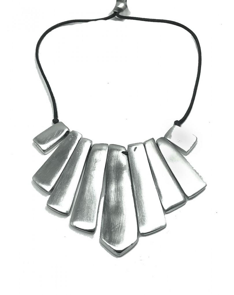 42561e2fab02 Collares Mujer Plata Cortos Originales