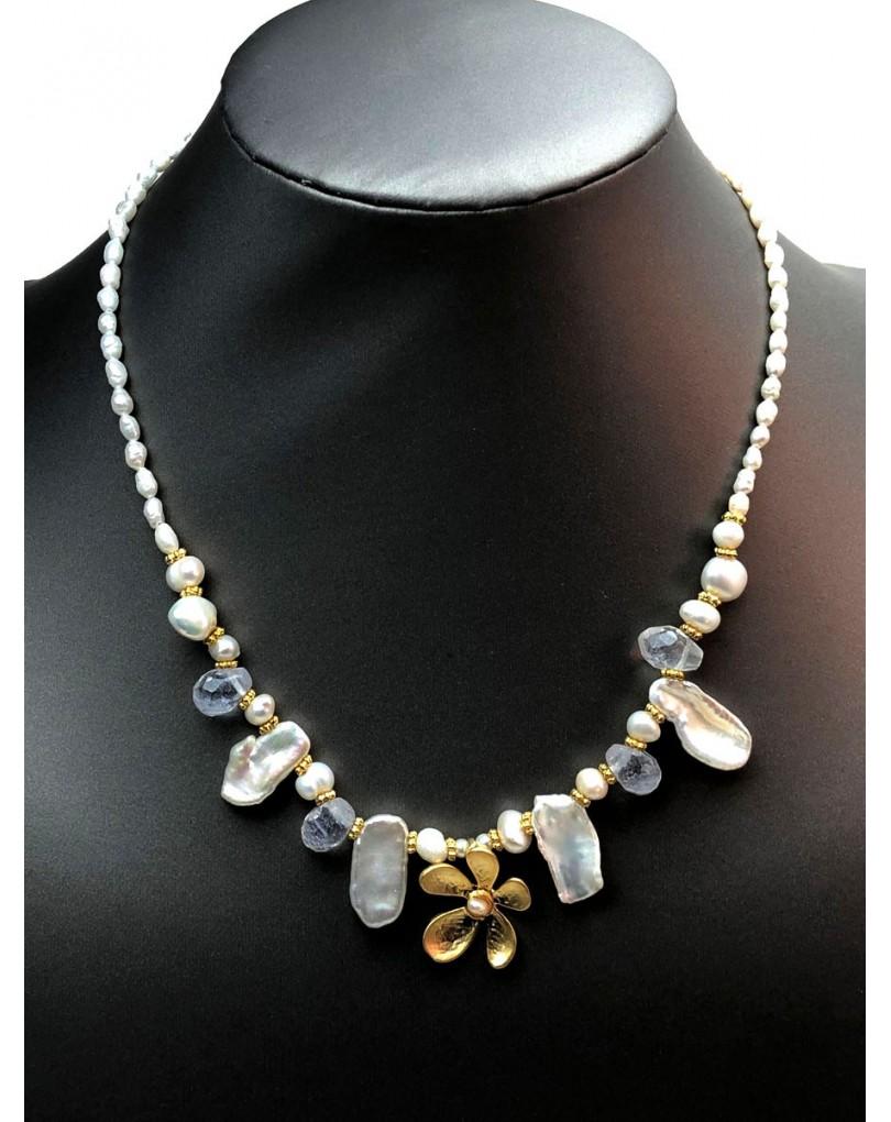 d3543f2492cc Collares Cortos de Perlas Barrocas Diseños Nuevos