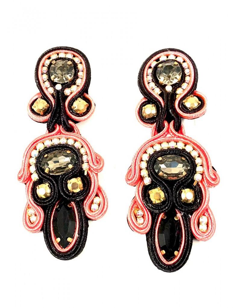 a65d49a2e5d2 Pendientes de Flamenca Corales Espectaculares para Tu Vestido de Flamenca