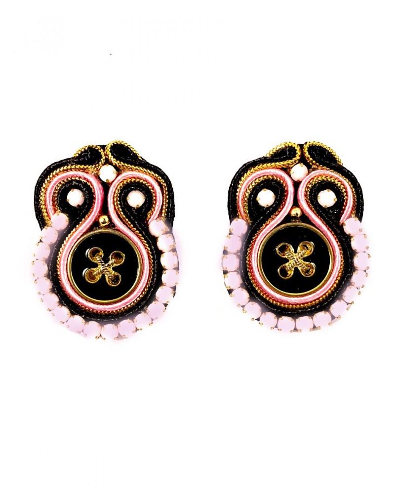 b060d9828db2 Pendientes de Diseño Rosas Originales con Boton Venta Online ...
