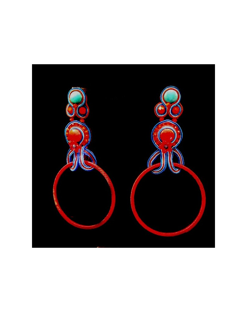 a64f902c8714 Pendientes Flamenca de Aros Espectaculares