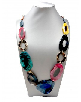 COLLARES LARGOS CAREY DE COLOR BONITOS EN TENDENCIA