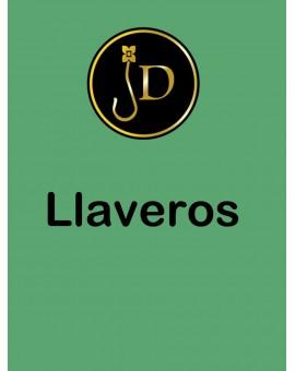 LLAVERO PIEL STRASS
