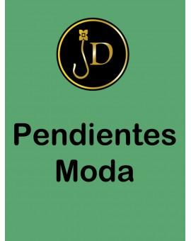 PENDIENTES DE MODA CON FLECOS Y POMPONES TENDENCIA, TONOS FLUOR