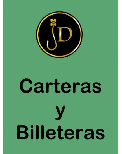 CARTERA BILLETERO PIEL DE POTRO, PASWORD, MEDIDAS:19*10CM