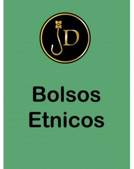 BOLSOS ETNICOS CON PIEDRAS DE TURQUESA