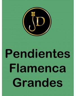 PENDIENTES FLAMENCA CON DISEÑO
