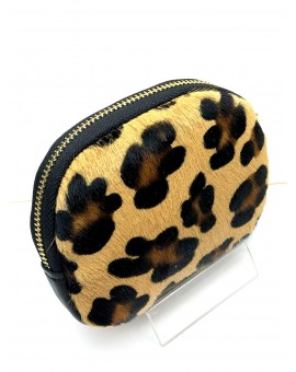 MONEDEROS DE MUJER ONLINE CON ESTAMPADO ANIMAL PRINT